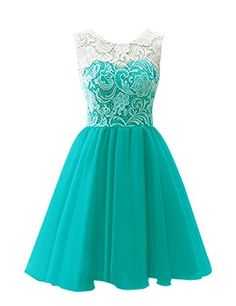 Cheap prom dresses, Buy Quality short prom dresses directly from China short prom Suppliers: Physical picture 2017 Elegant Chiffon Lace A-Line Sleeveless Empire Short Prom Dresses Vestidos De Noche Vestidos Largos Lace Homecoming Dresses, Hoco Dresses, Tulle Prom Dress, Short Bridesmaid Dresses, Pretty Dresses, Flower Girl Dresses, Party Dress, Prom Party, Flower Girls