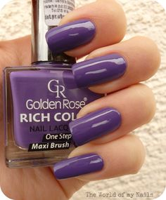 The World of my Nails : Golden Rose Rich Color 129