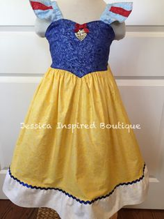 Snow White Sundress  Disney Princess Snow White by Theresafeller