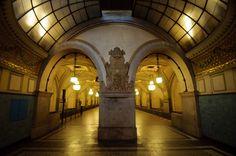ღღ Berlin - U-Bahnhof Heidelberger Platz ~~ Metro station Heidelberger Platz