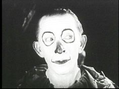 This is actually the Scarecrow in a 1925 version of The Wizard of Oz...this image is pretty creepy to me!