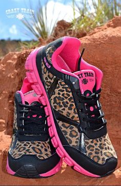 A personal favorite from my Etsy shop https://www.etsy.com/listing/241927213/pink-cheetah-tennis-shoes