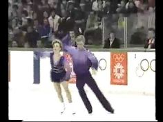 "Torvill & Dean, British ice dance team won gold at the 1984 Olympics for their famous rendition of ""Bolero"""