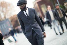 Pitti Uomo Fall 2014 Street Style - Pitti Uomo Fall 2014 Street Style Day 1.