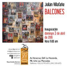 Galería OKYO se llena de textura y color con los Balcones de Julián Villafañe http://crestametalica.com/galeria-okyo-se-llena-textura-color-los-balcones-julian-villafane/ vía @crestametalica