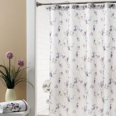Extra Long Extra Wide Shower Curtain