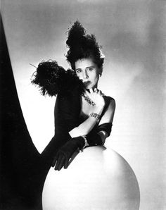 Horst P. Horst: Playwright (The Women) and future U.S. ambassador to Italy Clare Boothe Luce, 1938.