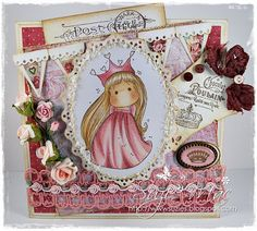 Sugar n Spice: Magnolia-licious/Wee Stamps DT Buttons/Bows and or Beads
