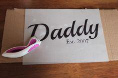 DIY Fathers Day Shirt