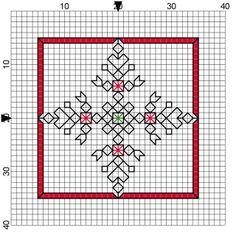 Blackwork - free patterns
