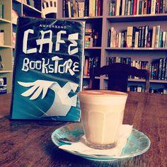 Great place to enjoy our #Bondi #Chai #chailatte: Ampersand Bookshop-Cafe in #Paddington #Sydney! #sydneycafes #cafes #easternsuburbs #surryhills #books #coffee #tea #bondichai