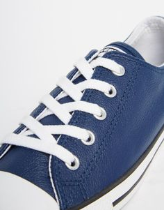 957d2832bdd2 Converse Navy Dainty Low Top Trainers