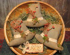 Primitive Thanksgiving Pilgrim Hat Bowl Fillers Fall Tucks Autumn Ornies