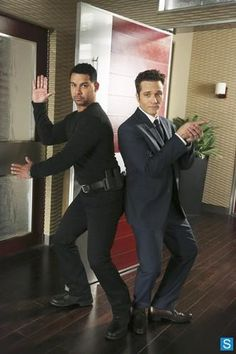 Jon Huertas and Seamus Dever - Esposito and Ryan from Castle. Two of my favorite supporting characters in a TV show