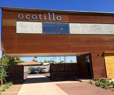 Ocotillo is a massive space with a well-executed menu.