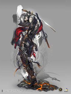 Lineage2, Dark Elf Male