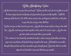 Celtic Handfasting Vows <33 I love it.