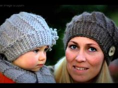 Knitting Pattern: CLICK HERE: http://knitting.myfavoritecraft.org/cool-wool-hat-and-cowl-set-pattern/
