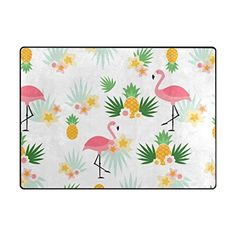 Senya Doormat Outdoor Mats Entrance Waterproof Rugs Pineapple Flamingos Non Slip Front Door Carpet for House Hotel Patio Garage *** More info could be found at the image url. (This is an affiliate link)