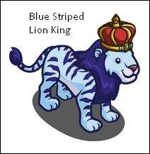 Blue Striped Lion King