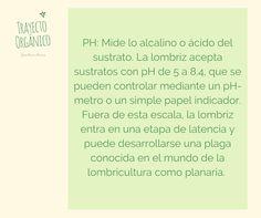 Cual es el PH ideal para una mejor reproducción de lombrices rojas californianas Eisenia Fetida en la vermicompostera. Ph, Personalized Items