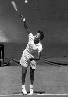 Althea Gibson. Althea Gibson, Wilma Rudolph, Black Power, Tennis Players, Wimbledon, Athletic Women, Female Athletes, Virginia Woolf, American