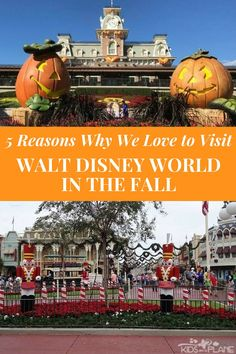 5 Reasons Why We Love to Visit Disney World in the Fall - There's something incredibly sweet about being in the Magic Kingdom during September, October, and/or November. We've got some great insight to help with your upcoming trip to Orlando! | #KidsOnAPlane #DisneyEverything #DisneyWorld #DisneyTrip #DisneyInFall #DisneyAdvice #TravelTips