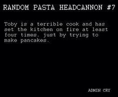 Toby headcanon