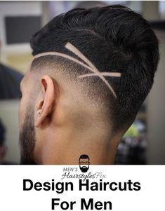 35 Awesome Design Haircuts For Men - Men's Hairstyles Haircut Designs For Men, Hair Designs For Boys, Cool Hair Designs, Design Haircuts, Trendy Mens Haircuts, Cool Hairstyles For Men, Boy Hairstyles, Cool Haircuts, Hair Tattoo Men