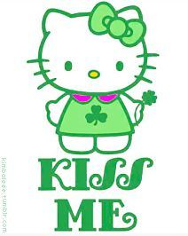 Holiday on Pinterest | Hello Kitty, Sanrio and St Patrick's Day