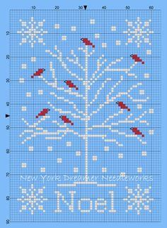 ♥ New York Dreamer Needleworks ♥: Blue Christmas, un free per natale