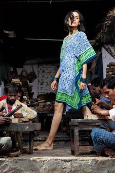 Stylish Indian block print chic