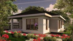 Model 104mp   Case de top Three Bedroom House Plan, House Plans One Story, Story House, Design Case, Bed Design, House Design, Home Fashion, Cottage, House Styles