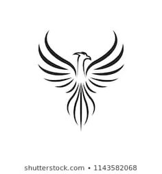 Similar Images, Stock Photos & Vectors of abstract stylized vector wings set - 11484598 Phoenix Tattoo Feminine, Small Phoenix Tattoos, Phoenix Tattoo Design, Small Tattoos, Phoenix Tattoo For Men, Tattoo Ave Fenix, Fenix Tattoos, Tattoo Calf, Phönix Tattoo