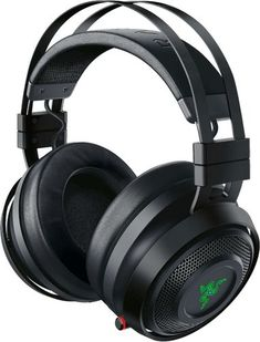 Razer - Nari Ultimate Wireless THX Spatial Audio Gaming Headset for PC and PlayStation 4 - Gunmetal (Grey) Gaming Headset, Razer Gaming, Gaming Headphones, Gaming Computer, Wireless Headphones, Audio, Console Pc, Playstation, Ideas
