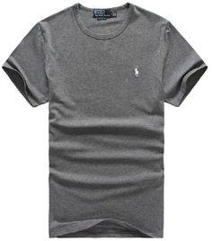 polos pas cher ralph lauren - ralph lauren polo t-shirt design Tee en Gris 1653ad50caef