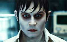"Johnny Depp as Barnabas Collins in ""Dark Shadows"""
