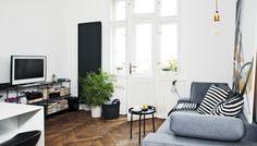 Interiér: Dámský styl v pánských tónech - černobílá je zkrátka univerzální a věčná :-)