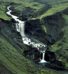 Ofærufoss waterfall, Iceland