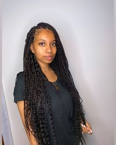 Security Check Required [New] The 10 Best Braid Ideas Today (with Pictures) - Sudanese version of jhene aiko or what small bohemian box braids! Dm to book July appointments now Braids With Curls, Long Box Braids, Small Braids, Braids For Black Hair, Girls Braids, Colored Box Braids, Curly Hair Styles, Natural Hair Styles, Bohemian Braids