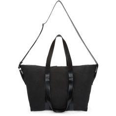 Ann Demeulemeester - Black Canvas Weekender Bag