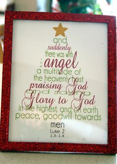 Wonderful Christmas quote/graphic