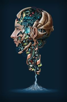 Mechanical portrait - 4 on Behance