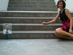 Chalk Art @ the 3rd Annual Classy Awards