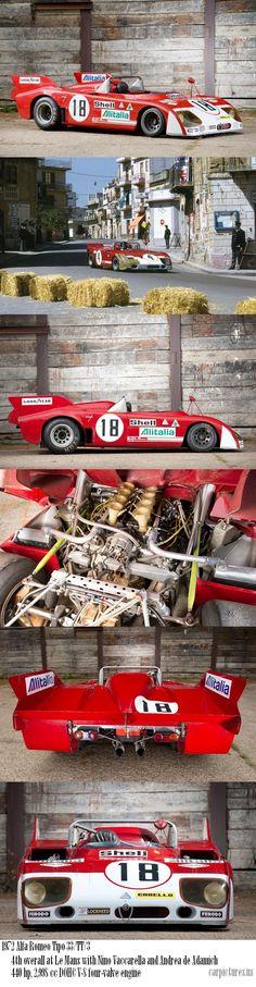 "1972 Alfa Romeo Tipo 33/TT/3 ""Le Mans"" Racing Car"