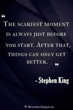 40 Best Encouraging Quotes To Pick You Up When You're Feeling Down And Depressed 40 Profound Quotes Of Encouragement From Famous Authors, Philosophers And Motivational Speakers Citations Stephen King, Stephen King Quotes, My King Quotes, Motivation Positive, Writing Motivation, Positive Quotes, Monday Motivation, Business Motivation, Strong Quotes