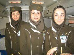 Iranian Stewardesses Iran Air, Emirates Airline, Cabin Crew, Flight Attendant