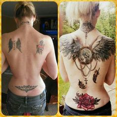 Before ... After ... Good Tattoo ...