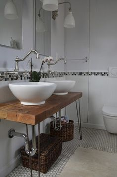 Reclaimed Wood Vanity Design Ideas, Pictures, Remodel, and Decor - page 2