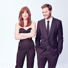 Photoshoot Oficial de Dakota Johnson y Jamie Dornan (2)   50 Sombras Spain